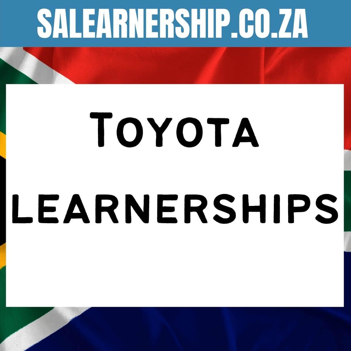 Toyota learnerships