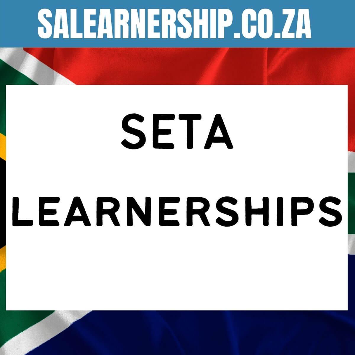 Seta Learnerships 2021 2022