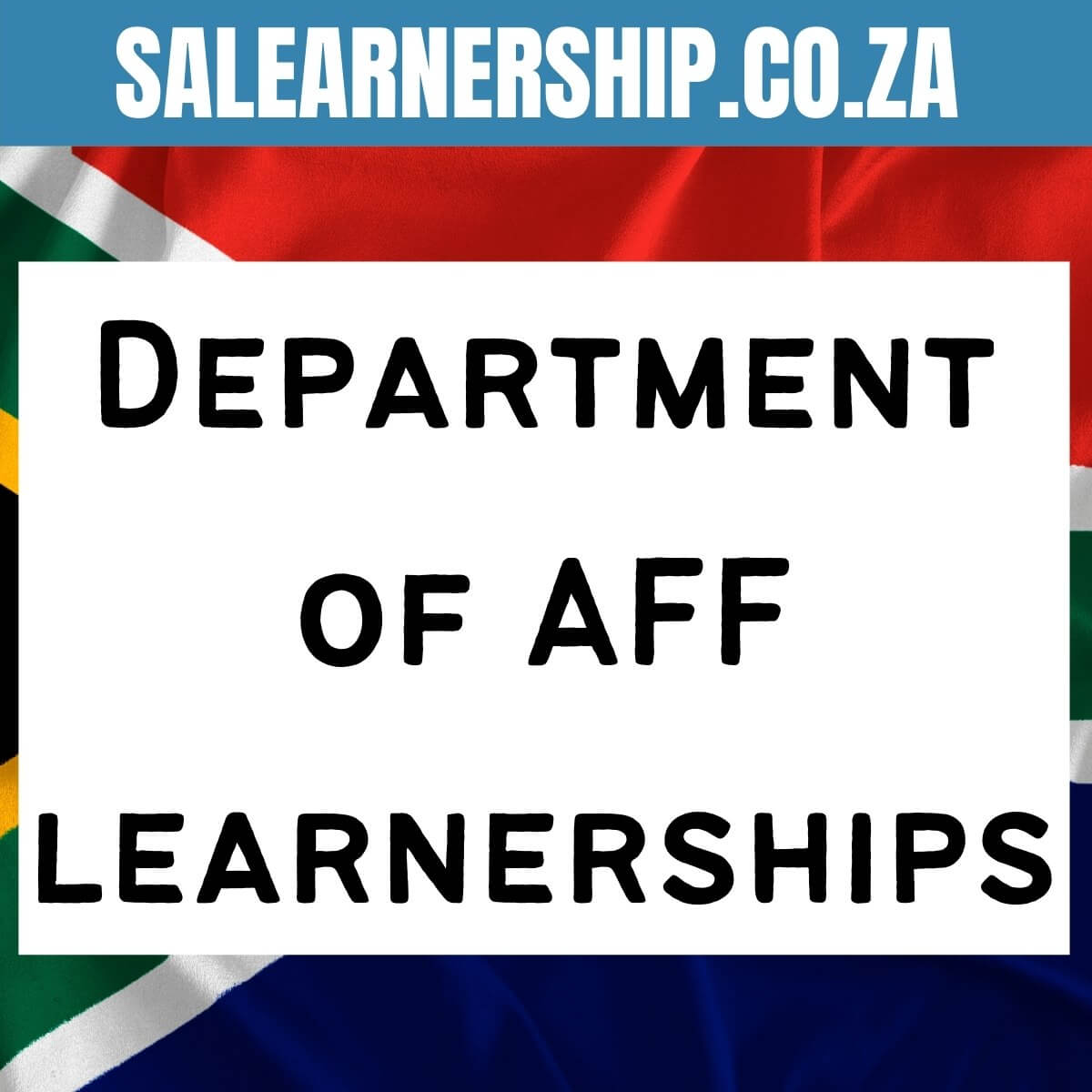 Department of agriculture forestry fishery learnerships