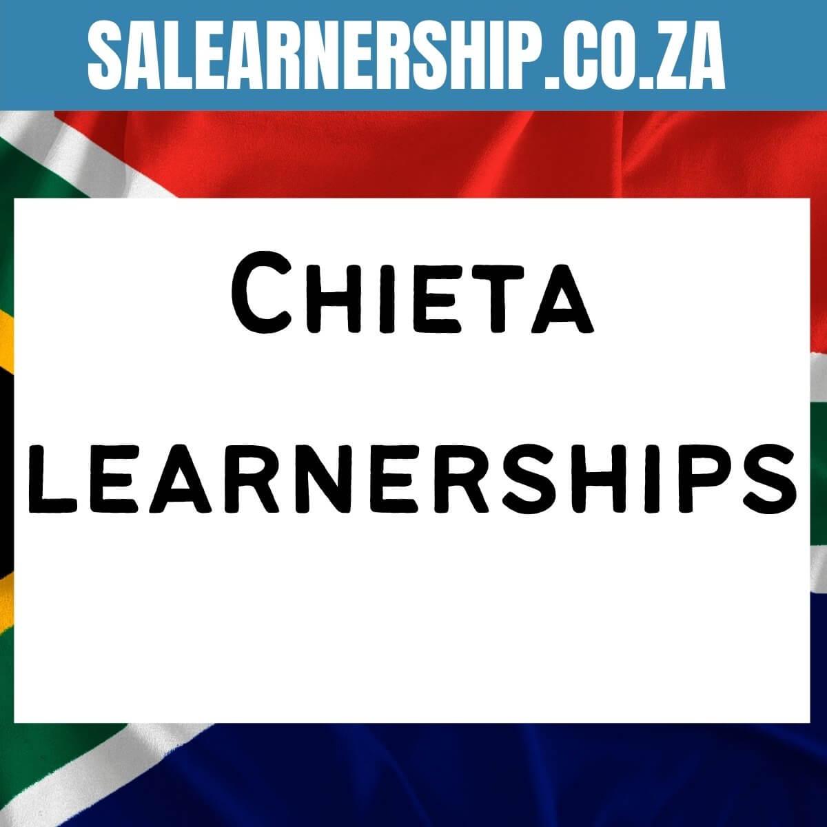 Chieta learnerships