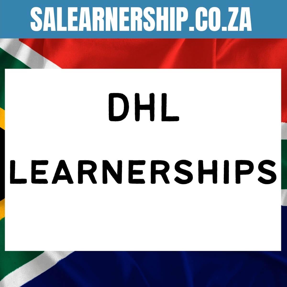 DHL learnerships