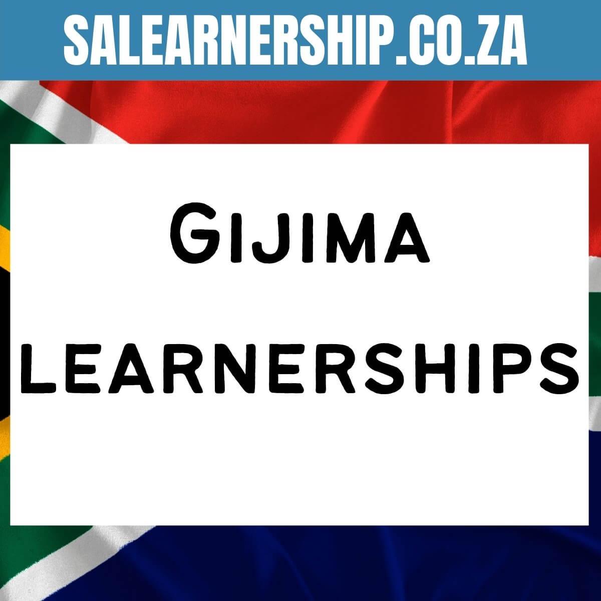 Gijima learnerships