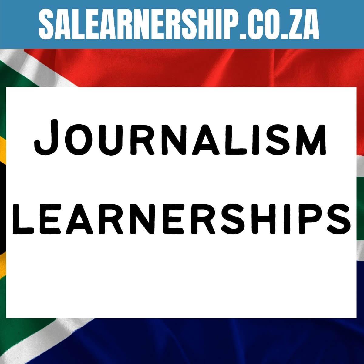 Journalism learnerships