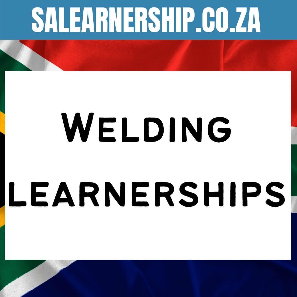 Welding learnerships