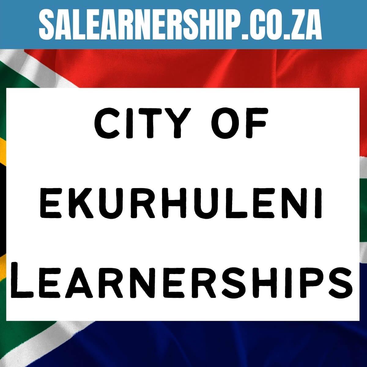 city ekurhuleni learnerships
