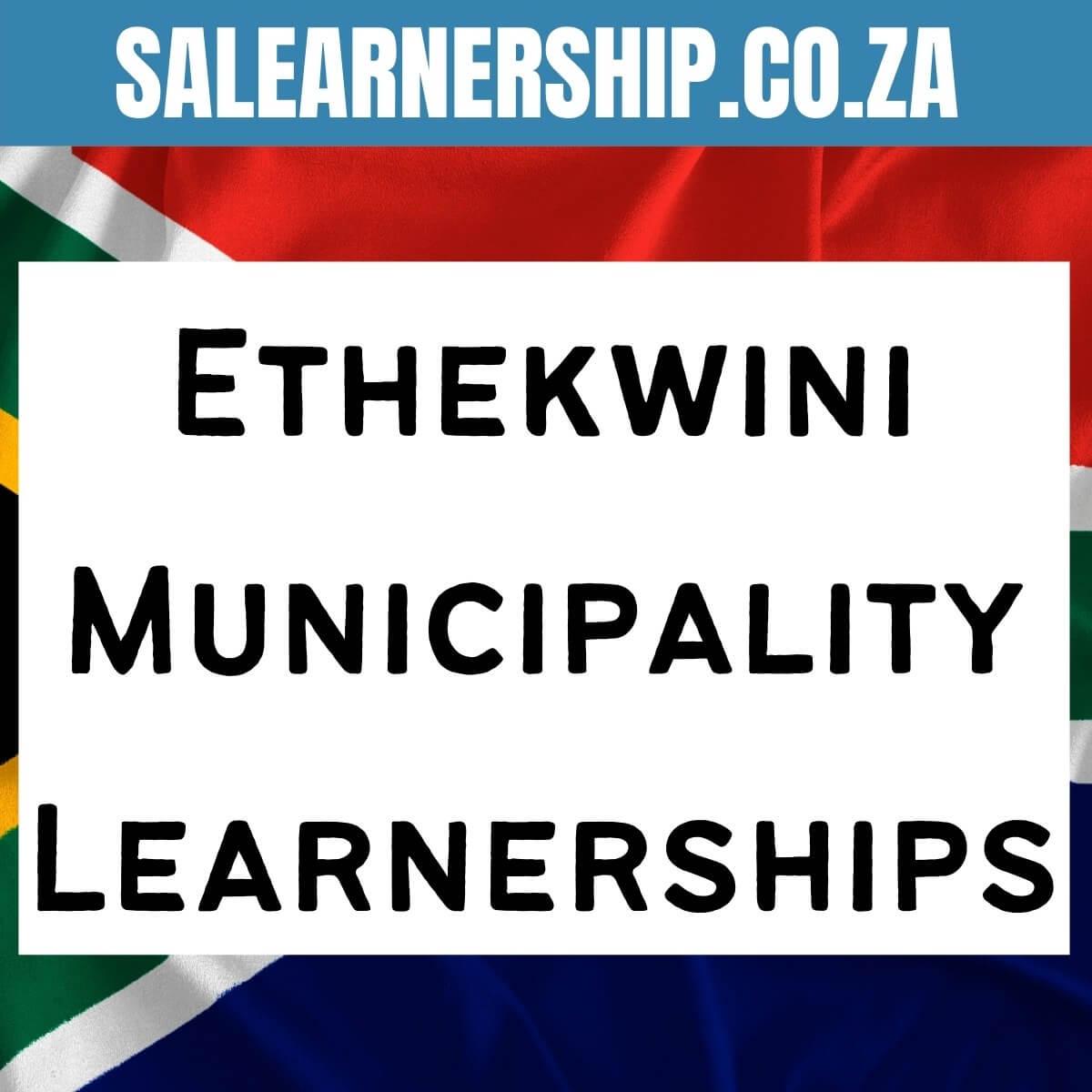 ethekwini municipality learnerships